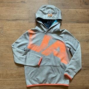 Under armour cold gear hooded sweater medium